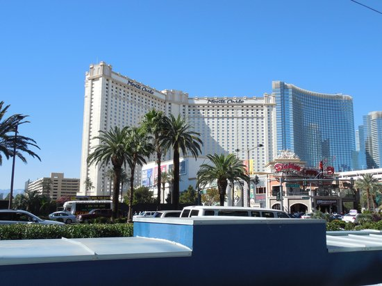 Monte Carlo Resort & Casino: view from across the street