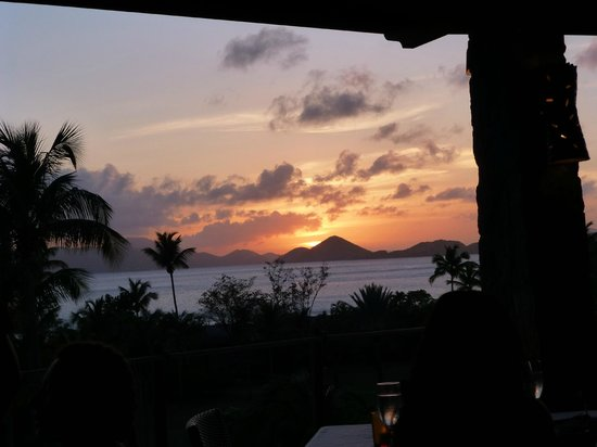 ZoZo's Ristorante: Sunset view as an appetizer