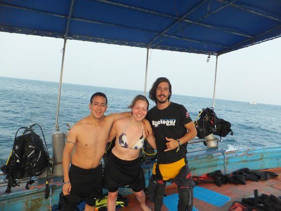 Roctopus Dive: ...with my dive instructor Ty