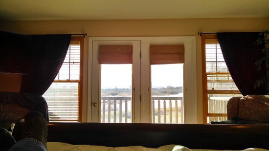 Blue Heron Inn: Even laying in bed, the view is fantastic!