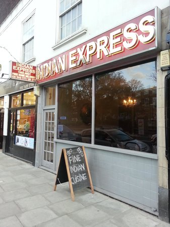 ‪Indian Express. West Kensington‬