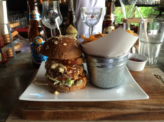 Flip Side: Now that is a burger!