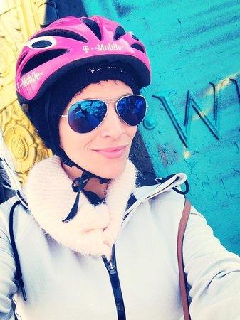 Bike the Big Apple : me