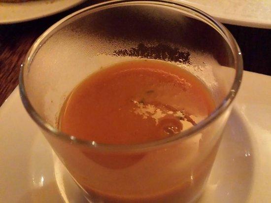 Zaza's: carrot soup