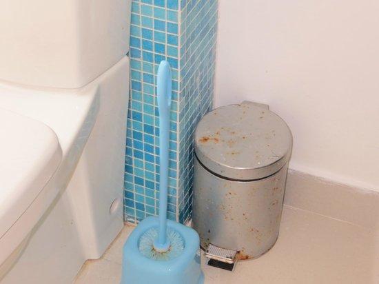 Pigeon Island Beach Resort: Junior Suite Bathroom on arrival