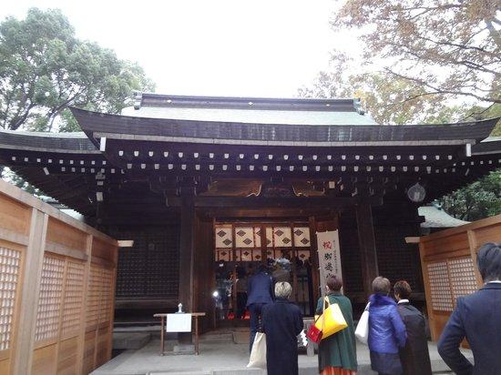 Kawagoe Hikawa Shrine: 拝殿