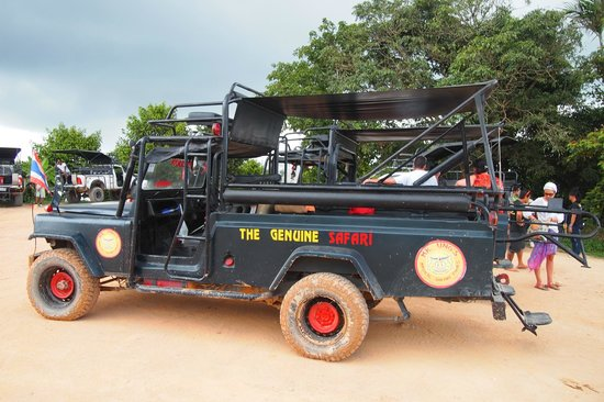 Mr Ung's Magical Safari : Great ride on the jeep