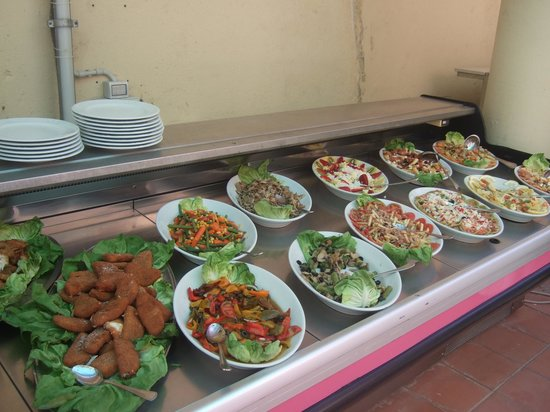 Tui Sensimar Atlantic Palace : Part of lunchtime buffet