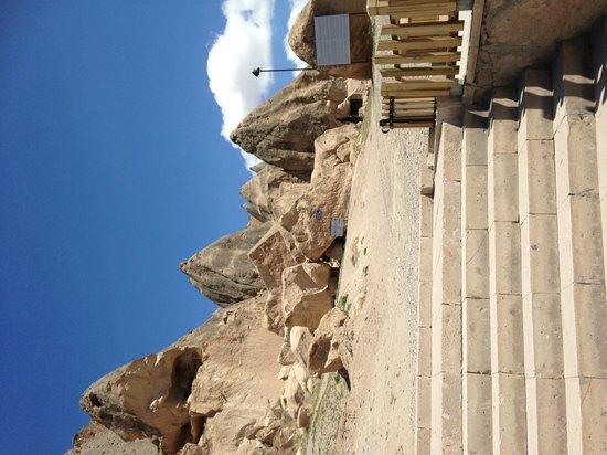 Selime Monastery: entrance