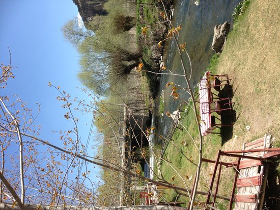 Selime Monastery: river close by