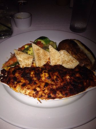 Dock's Oyster House: Crab Au gratin