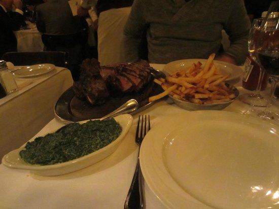 Keens Steakhouse: Porterhouse Steak for 2