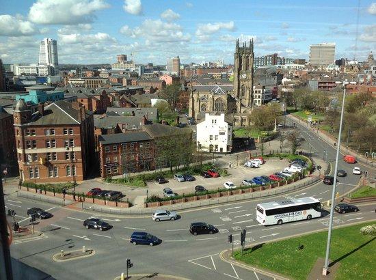 Hotel ibis budget Leeds Centre: Foto tirada da janela do flat