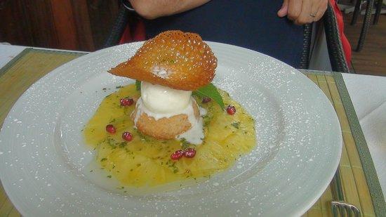 Restaurante Mozart: dessert
