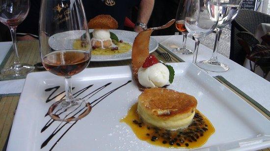 Restaurante Mozart: le dessert