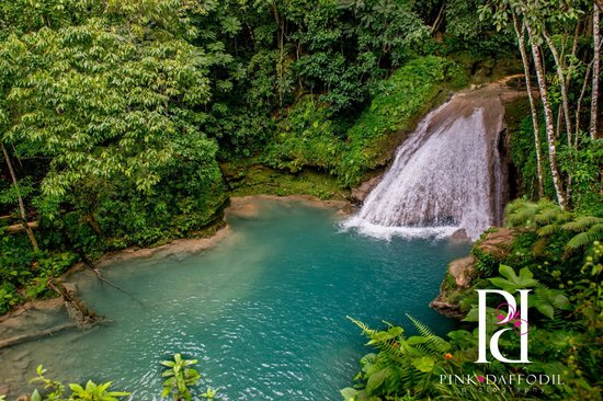 Blue Hole Waterfall