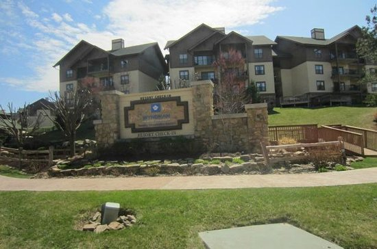 Wyndham Smoky Mountains : Enterence