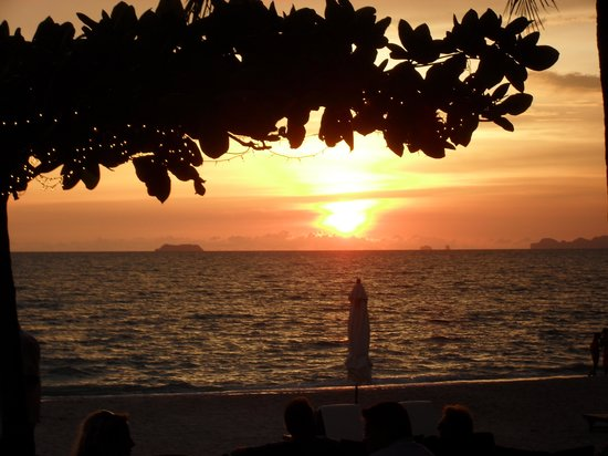 Layana Resort and Spa : sunset