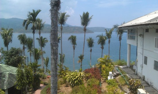 Fortune Resort Bay Island: view from room balcony