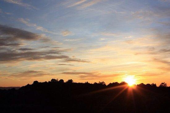 El Jufre: Posta de sol