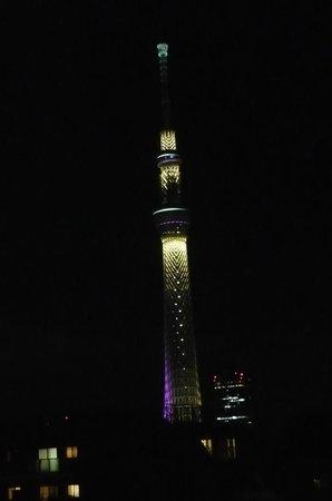 Hotel MyStays Asakusa : 晴空塔