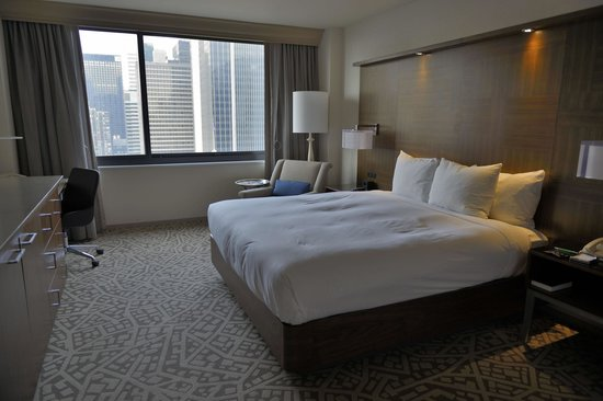 Hilton Times Square: my room