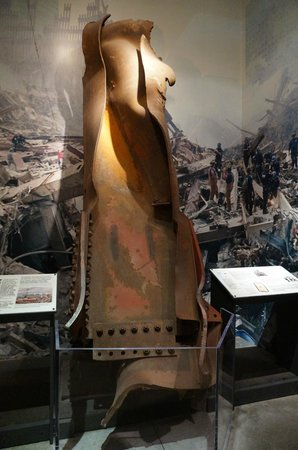 9/11 Tribute Museum: impact of falling buildings
