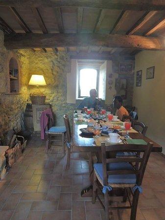 Farmhouse Colli di Travale: colazione