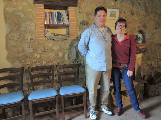 Farmhouse Colli di Travale: Antonello e moglie