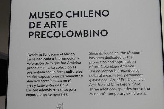 Museo Chileno de Arte Precolombino: Museo