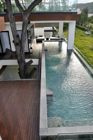 Cape Nidhra : privater Pool