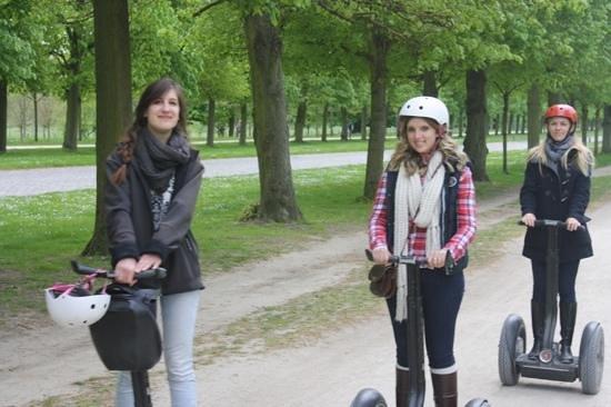 Versailles Events - Versailles Segway Tours: versailles segway tour with Eva Green