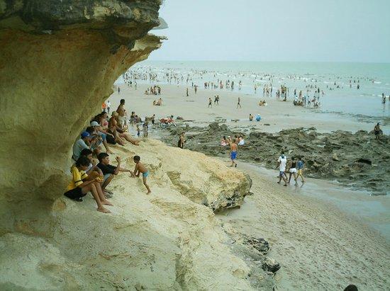 Areia Branca, RN: Vista da Pedra