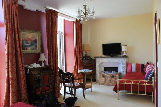 Chateau Hotel du Colombier: Chambre