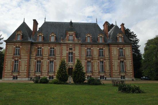 Chateau le Corvier : en arrivant