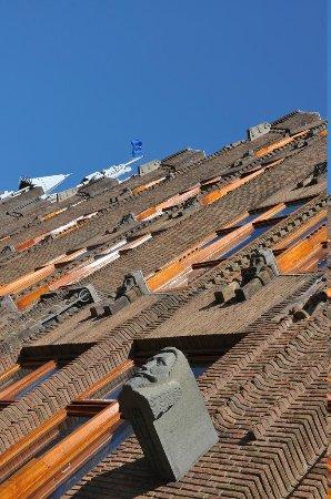 Grand Hotel Amrath Amsterdam : Brickwork