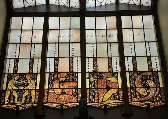 Grand Hotel Amrath Amsterdam : Glasswork