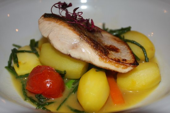 The Lime House : Fillet of Sea Trout