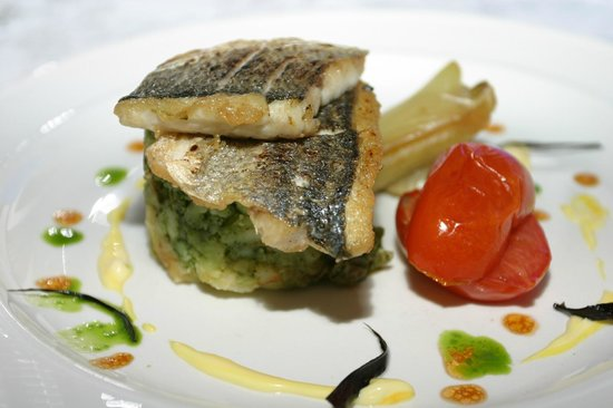 The Lime House: Fillet of Seabass