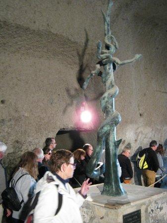Herculaneum Ercolano : The hydra fountain.