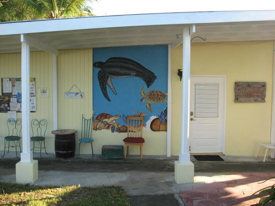 Cottages By The Sea: Artwork by the rooms.