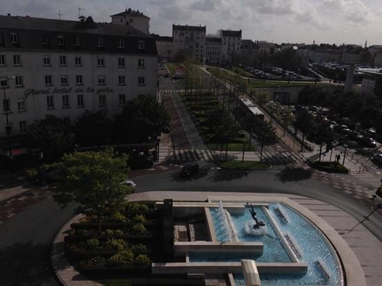 Hôtel de France : view