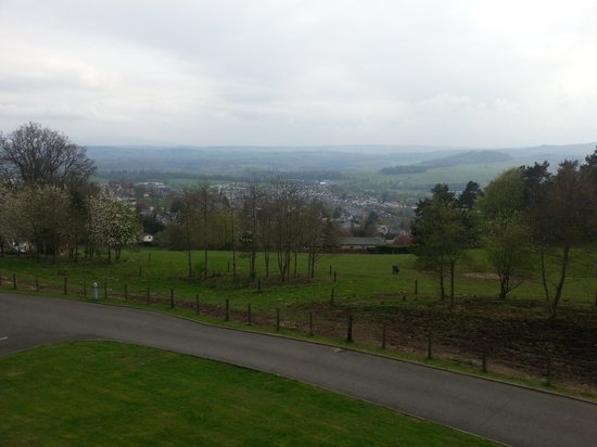 Crieff Hydro Hotel and Resort: the view from the balcony