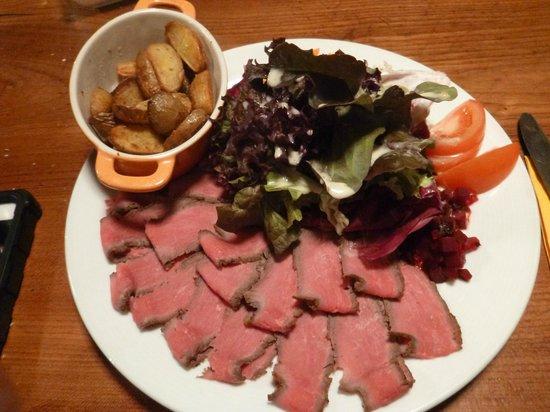 La Cabriolle: Roast beef Dinner