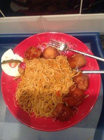 Hotcha: Worst Chinese I've ever had.