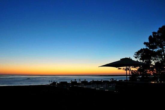 La Corniche : Coucher de soleil depuis la terrasse