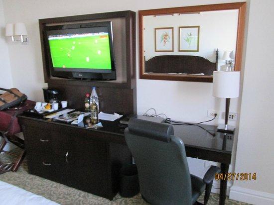 JW Marriott Hotel Rio de Janeiro: soccer soccer soccer.
