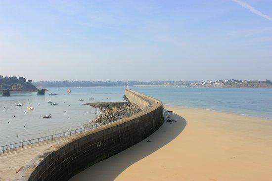 Les remparts de Saint-Malo : Paysage