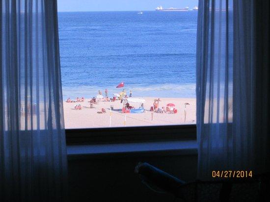 JW Marriott Hotel Rio de Janeiro: beach view from room