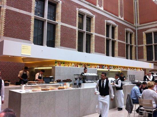 Rijksmuseum Cafe: La salle